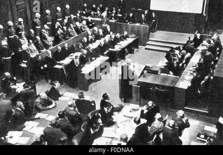 nuremberg trial justice United states v josef altstoetter, et al on february 13, 1947, the us military government for germany created military tribunal iii to try the justice case, the third of the subsequent nuremberg proceedings of the sixteen defendants indicted on january 4, nine were officials in the reich ministry.