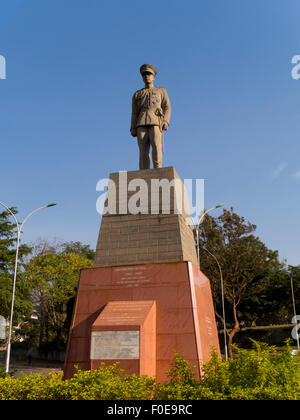 Uganda, Kampala, Freddie mutesa statue - Stock Photo