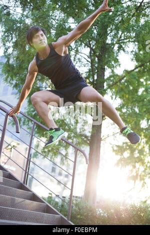 Free runner - Stock Photo