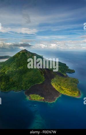 Gunung Api volcano, Banda islands, Maluku Islands, Indonesia - Stock Photo