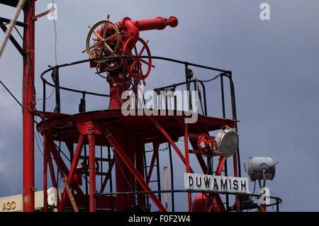 Fireboat Duwamish, Northwest Seaport, Seattle, Washington