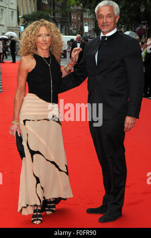 London,UK,11 August 2015,Kelly Hoppen attends BAFTA tribute special award ceremony for ITV's Downton Abbey at Richmond - Stock Photo