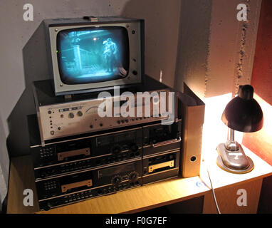 DDR East German security equipment for spying on citizens in Berlin - Stock Photo