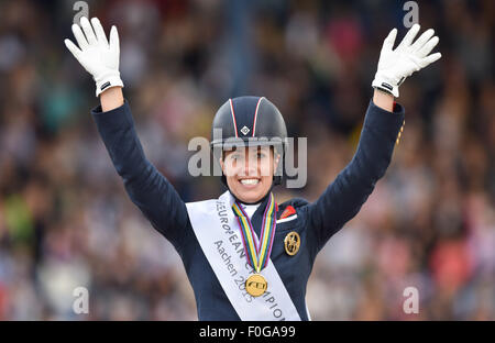 Aachen germany 15th aug 2015 charlotte dujardin of for 99 f dujardin