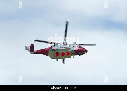 Sikorsky S-92A Coastguard SAR Helicopter (G-MCGI) based at Inverness. SCO 10,028. - Stock Photo