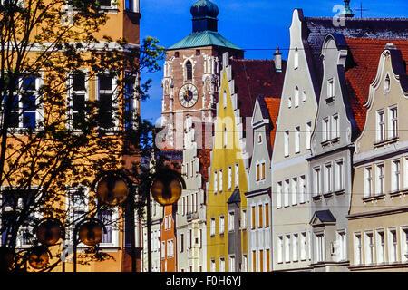 Ingolstadt. Bavaria. Germany. - Stock Photo