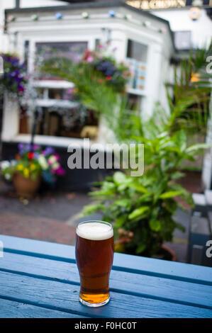 Rose and Crown pub Ludlow Shropshire UK - Stock Photo