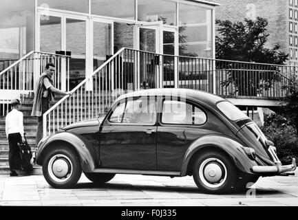 transport / transportation, car, vehicle variants, Volkswagen, VW 1200 beetle, circa 1970, Additional-Rights-Clearences - Stock Photo