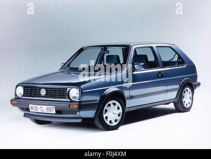transport, car, vehicle variants, Volkswagen, VW Golf Mk2 CL, 1990, Additional-Rights-Clearences-NA - Stock Photo