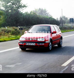 transport / transportation, car, vehicle variants, Volkswagen, VW Golf Mk3 GTI, 1990s, Additional-Rights-Clearences - Stock Photo