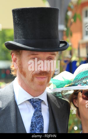 Royal Ascot 2015 held at Ascot Racecourse - Day 1  Featuring: Damian Lewis Where: Ascot, United Kingdom When: 16 - Stock Photo
