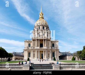 L'Hôtel National des Invalides / Les Invalides, Paris, France. - Stock Photo