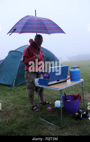 how to cook rice on a camping stove