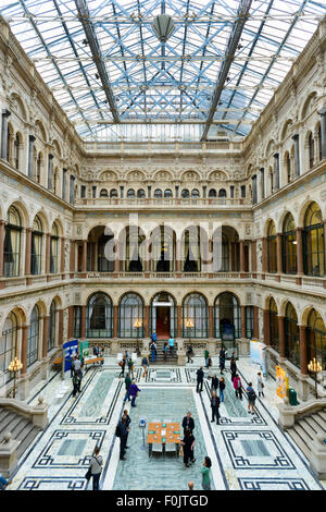 The Durbar Court at the Foreign and Commonwealth Office, London, England, UK - Stock Photo