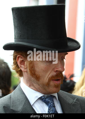 Royal Ascot - Day 1- Sightings  Featuring: Damian Lewis Where: Ascot, United Kingdom When: 16 Jun 2015 - Stock Photo