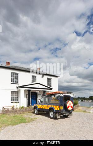 SARA, Severn Area Rescue Association vehicle at Sharpness, Gloucestershire, England, UK - Stock Photo