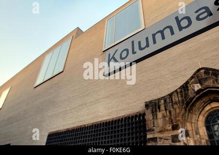 Kolumba diocese museum of the cologne catholic church northrhine-westphalia  germany europe - Stock Photo