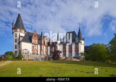 Klink Castle, Mecklenburg Western Pomerania, Germany Stock Photo