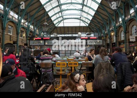 Jamie Oliver Restaurant Called Union Jacks In Covent Garden London