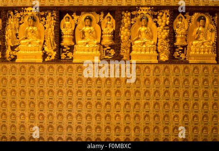 Po Lin Monastery, Lantau Island, Hong Kong - Stock Photo