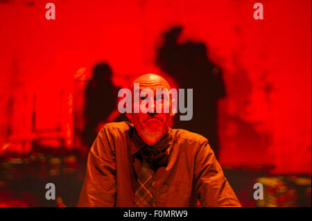 Edinburgh, Scotland, UK. 18th Aug, 2015. George Anton, Confessions Of A Justified Sinner at the Queens Hall as part - Stock Photo
