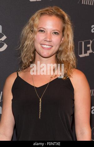 New York, NY, USA. 18th Aug, 2015. Patti Murin at arrivals for IFC'S DOCUMENTARY NOW! Premiere, New World Stages, - Stock Photo