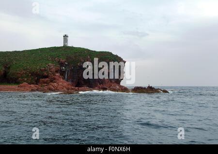 Vladivostok, Islands Verkhovsko, Primorye, Far East, Russia. 15th Oct, 2014. Islands Verkhovskogo, Peter the Great - Stock Photo