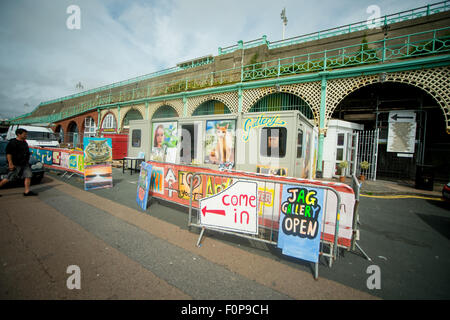 Scenes at the historic Madeira Drive in Brighton. The ...