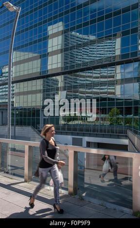 Vienna International Center (VIC), UNO City Austria - Stock Photo