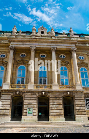 Hungarian National Gallery, art gallery, Budavari Palota, the Castle, Castle district, Buda, Budapest, Hungary - Stock Photo
