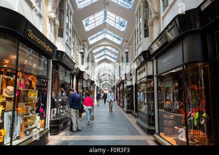 London, Burlington Arcade - Stock Photo