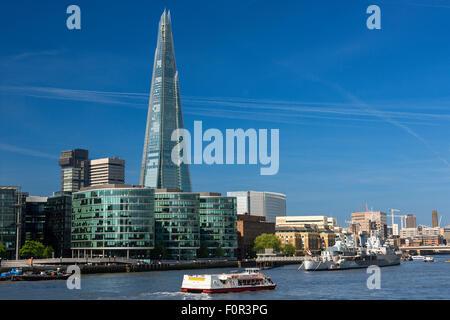 London, Shard London Bridge - Stock Photo