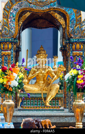 Thailand, Bangkok, erawan temple - Stock Photo