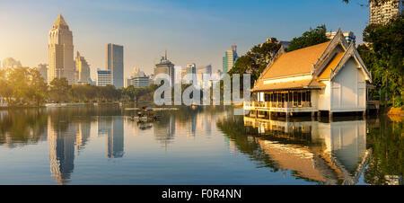 Thailand, Bangkok, Lumpini Park