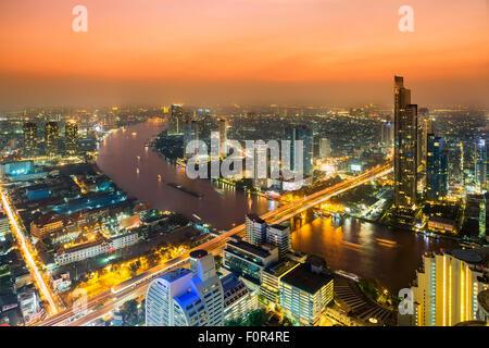 Thailand, Bangkok skyline
