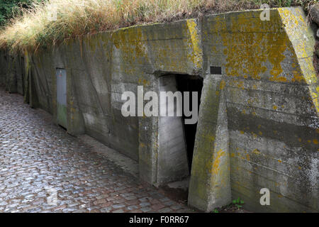 Essex Farm Bunker, Flanders, Belgium - Stock Photo