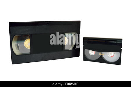 Analog video tapes - Stock Photo
