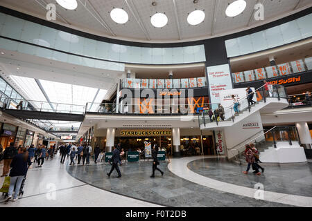The arndale shopping centre Manchester England UK - Stock Photo