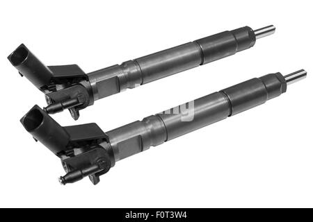 diesel fuel injection nozzle - Stock Photo