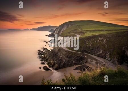 Coummenole beach, County Kerry, Ireland - Stock Photo