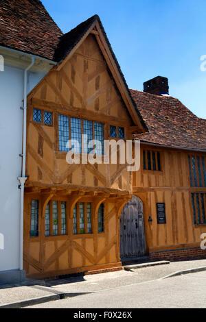 Little Hall Museum, Barn Street, Lavenham, Suffolk, UK - Stock Photo