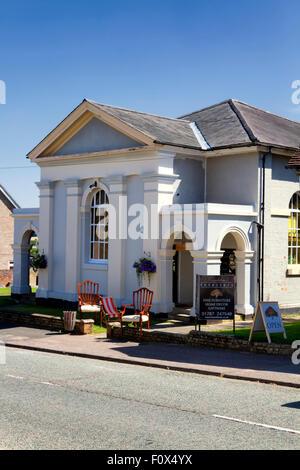 Marshbeck antique reproduction furniture store, High Street, Lavenham, Suffolk, UK - Stock Photo