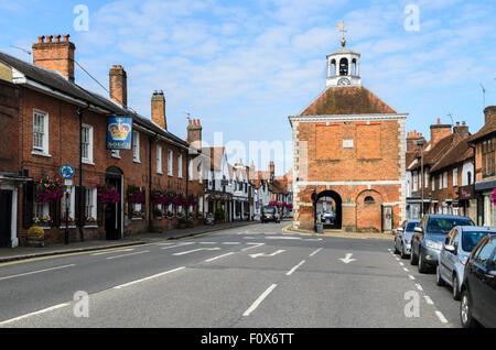 Old Amersham High Street, Buckinghamshire, England, UK - Stock Photo