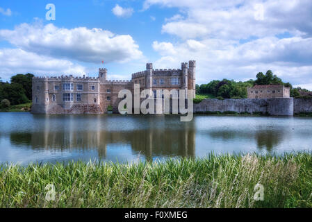 Leeds Castle, Maidstone, Kent, England, United Kingdom - Stock Photo