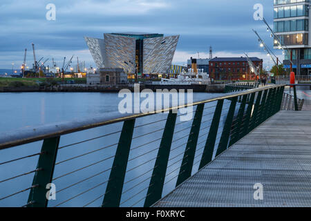 Titanic Museum, Belfast, North Ireland, United Kingdom, Europe - Stock Photo