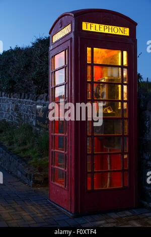 Telephone. Giant´s Causeway, County Antrim, North Ireland, United Kingdom, Europe Ireland, United Kingdom, Europe - Stock Photo