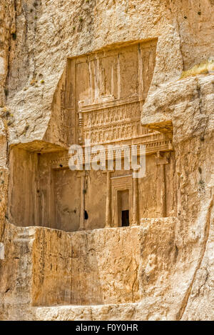 Naqsh-e Rustam Darius I tomb - Stock Photo