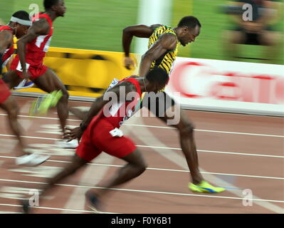 Usain Bolt wins the 100m in world record time of 9.69 ...