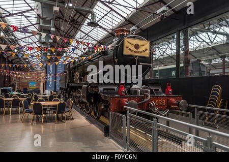 Steam, the Museum of the Great Western Railway, Swindon, United Kingdom - Stock Photo