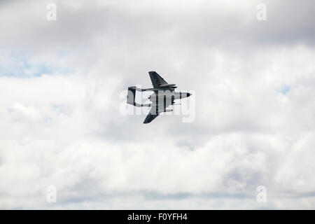 Bournemouth, UK. 23 August 2015. The Sea Vixen performs at the eighth annual Bournemouth Air Festival. Credit:  - Stock Photo